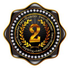 2 フレーム メダル