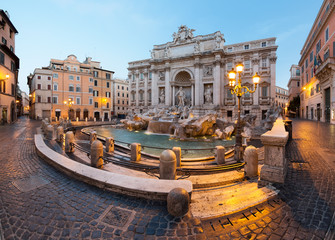 Printed kitchen splashbacks Rome Fontaine de Trevi, Rome, Italie