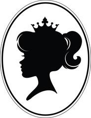 Girl Princess Silhouette