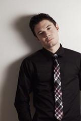 Businessman in tie