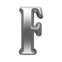 isolated metal figure