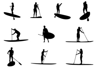 SUP Silhouettes
