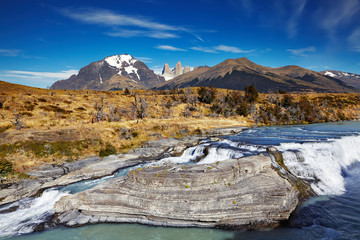 Wall Mural - Torres del Paine National Park, Chile
