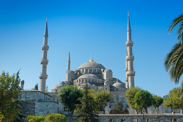 Blue Mosque on Istanbul Turkey