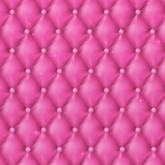Luxury pink background with pearls.