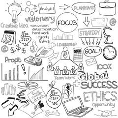 Business doodle