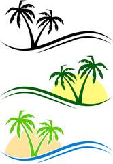 Palms set