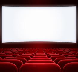 wide cinema screen