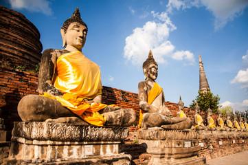 buddha statue in Thai Temple,Free public history