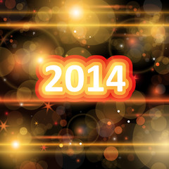 2014 Background - Vector Illustration, Graphic Design