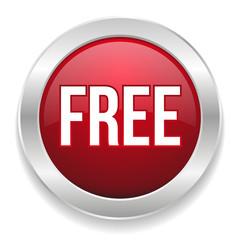 Red round free button