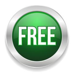 Green round free button