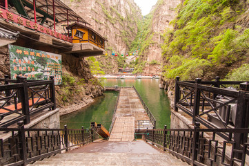 Longqing Gorge in China