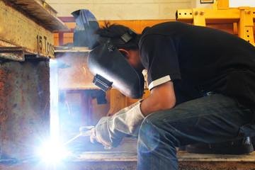 light of welding slot