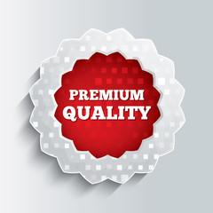 Premium quality glass star button.