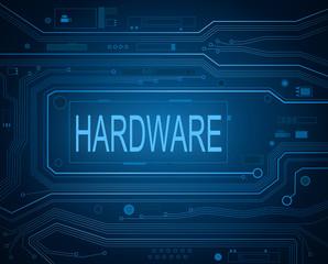 Hardware concept.