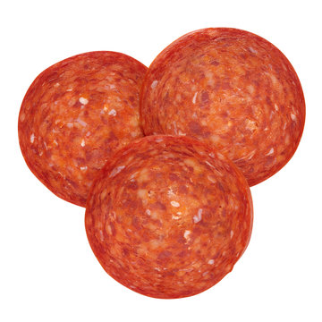 Pepperoni pieces