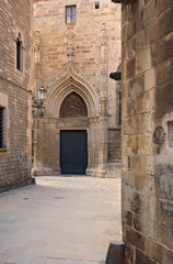 Barri Gotic (gothic quarter). Barcelona, Spain