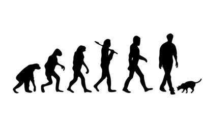 Evolution Cat Man