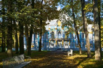 Catherine Park. Tsarskoe Selo, St.-Petersburg, Russia
