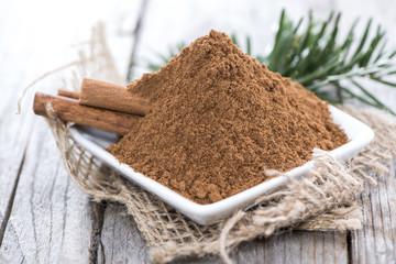 Heap of Cinnamon