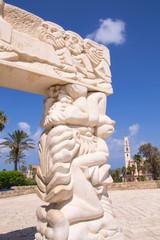 Statue of Faith at the Abrasha Park
