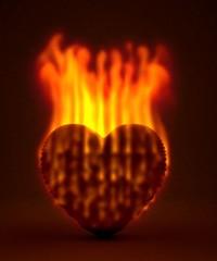 heart,fire