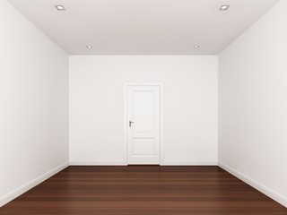 white wall,empty room,3d nterior