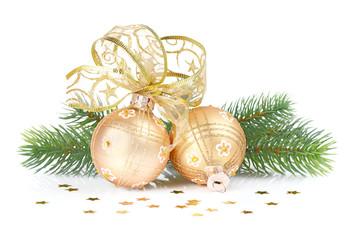 golden Christmas decoration