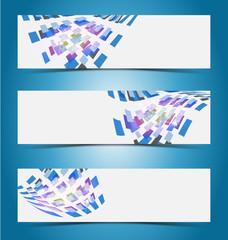 Elegant banner design template