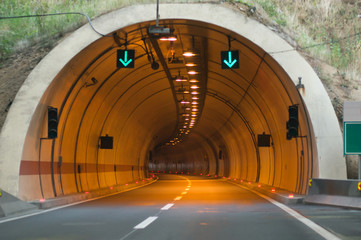 Wall Murals Tunnel tunnel entrance