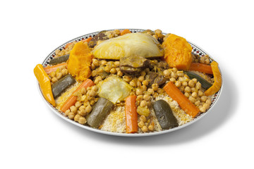 Wall Mural - Moroccan couscous dish