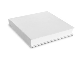 blank software or shoe box isolated over white background  ready
