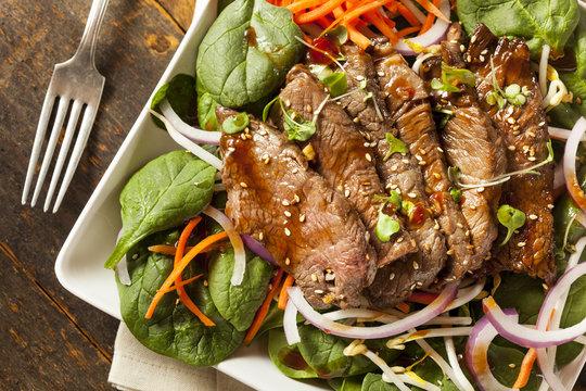 Asian Sliced Beef Salad