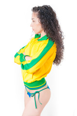 Brazilian Soccer Woman
