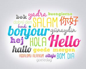 bonjour dans toutes les langues