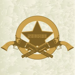 Sheriffs badge-1