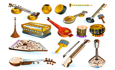 musical and percussion instruments