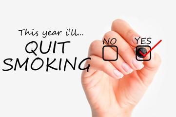 Quit smoking decision