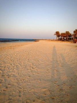 sir bani yas island sunset