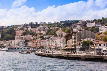 The Bosphorus, also known as the Istanbul Strait, is a strait th
