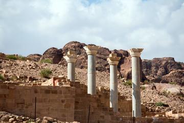 Blue Chapel Complex in Petra