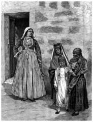 Jewish Family : Middle-East - 19th century