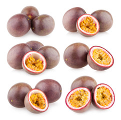 collection of 6 passion fruit images