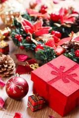 クリスマスオブジェクト