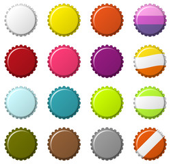 Set of bottlecaps