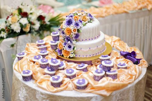 Свадебный торт  № 1408170 без смс