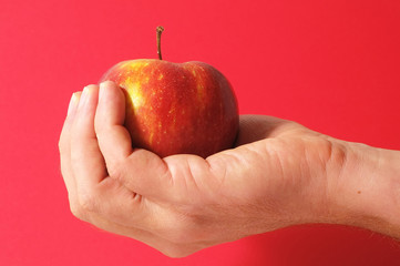 Apple on the Hand