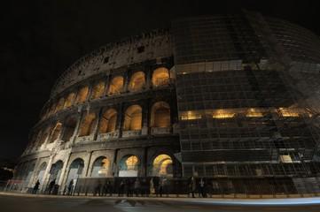 Restauro Colosseo Roma