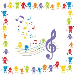 Kinder ~ Kids ~ Children in Aktion - Musik